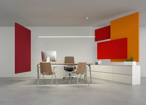 Caruso Flag Acoustic Panel | Woodwood Group