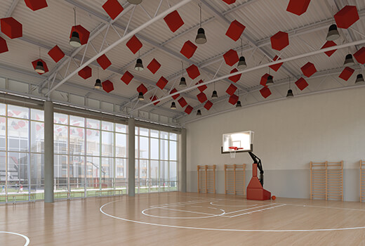 Sports Hall Acoustics | Woodwood Group