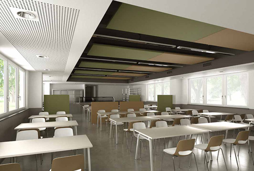 Canteen Acoustics | Woodwood Group