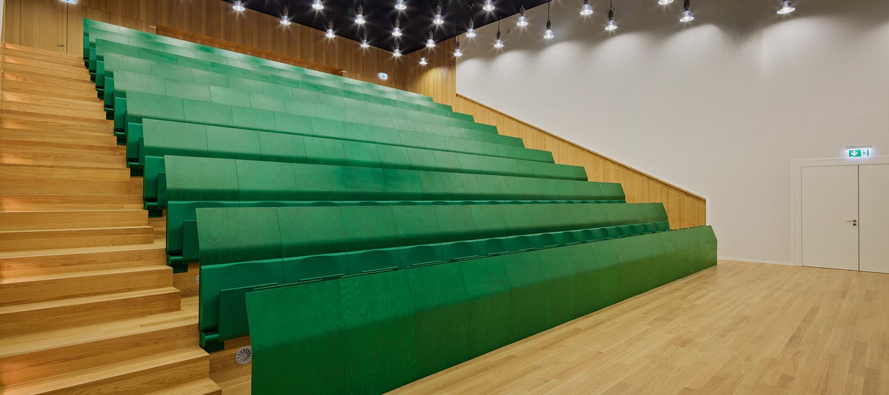 LAMM Lecture Theatre Seating | Woodwood Group