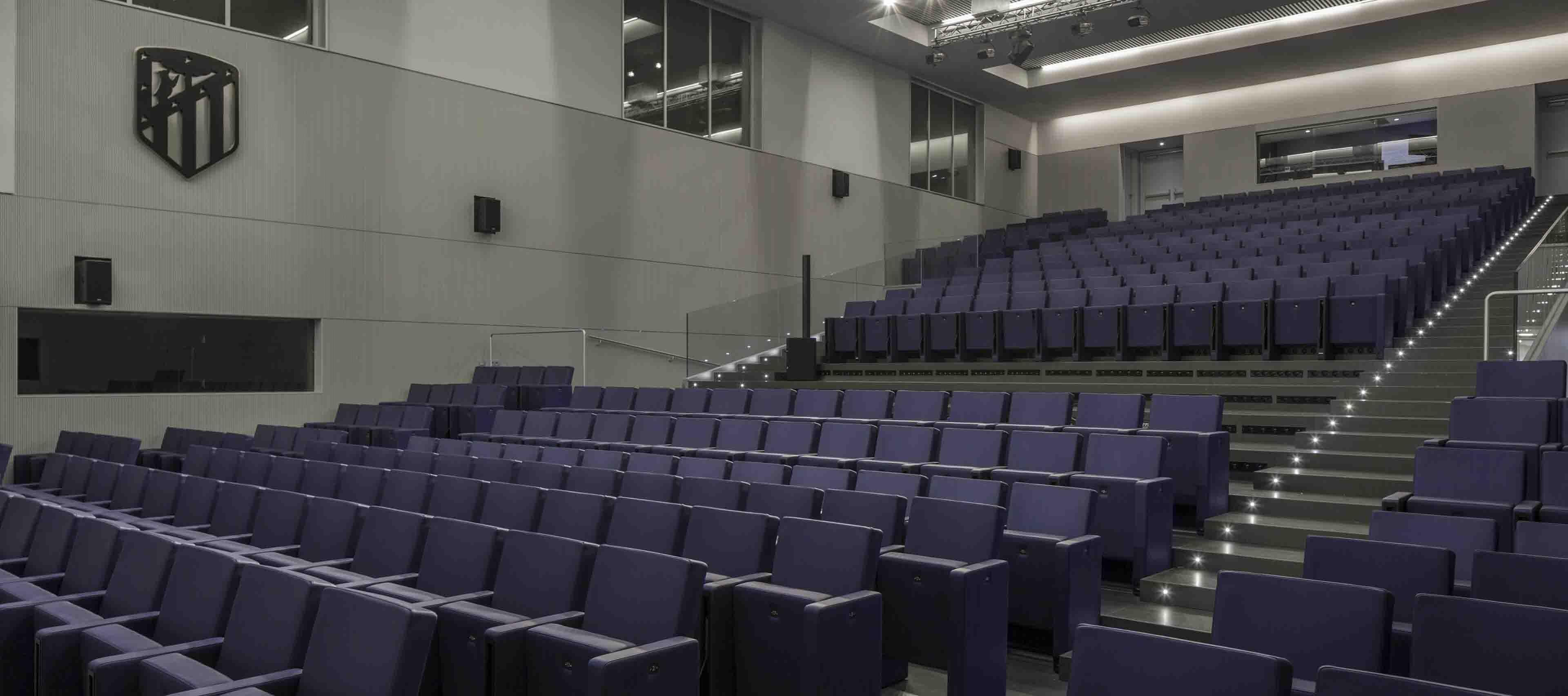 LAMM F50 Auditorium Chair   Woodwood Group