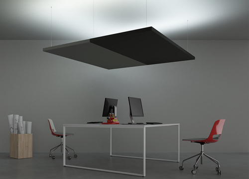 Acoustic Panels with Rear Line LED Lighting | Woodwood Group