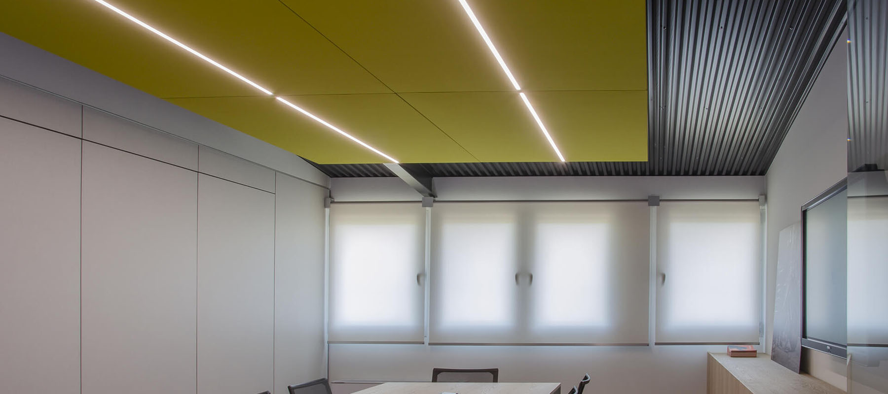 Acoustic Frontline LED Lighting | Woodwood Group