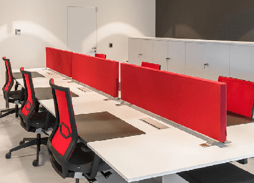 Caruso Scriba Acoustic Desk Divider | Woodwood Group