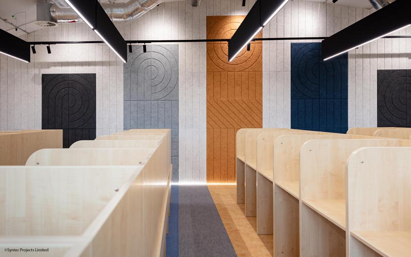 Sound Absorbing Panels at Cardinal Wiseman School | Woodwood Group