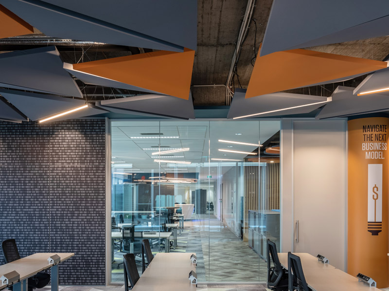 Caruso Sail Acoustic Panel | Woodwood Group